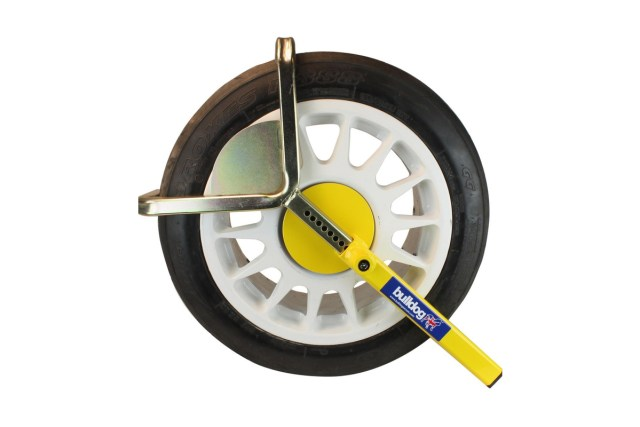 wheel clamp-bulldog autoclamp- for tyre widths of 145 - 205mm & tyre