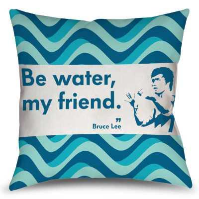Almofada Be Water - Bruce Lee - Coleção Office Station - Barril Criativo