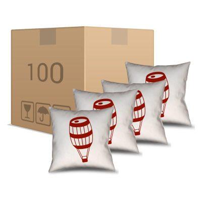100 Almofadas Brancas Personalizadas - Personalizados - Barril Criativo