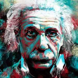 Albert Einstein 5 - Coleção Office Station - Barril Criativo