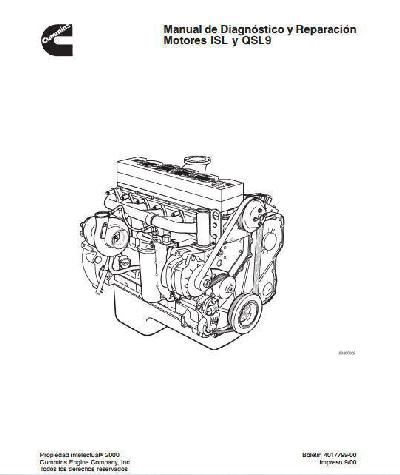 Cummins ISL, ISC and QSL specs, bolt torques, manuals