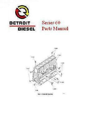Detroit Diesel series 60 repair manuals and spec sheets