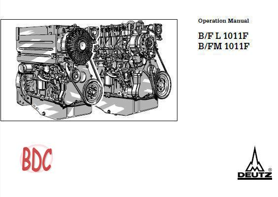 Deutz 1011 Specs, bolt tightening torques and manuals