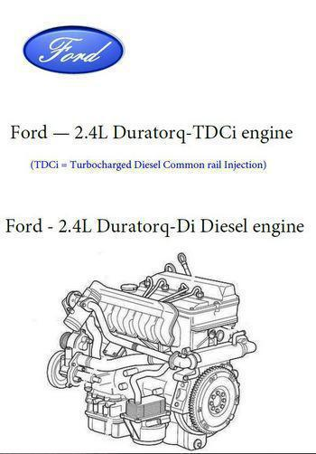 Ford Transit 2.4 Duratorq engine specs and manuals