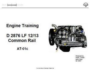 MAN 2676 engine specs, bolt torques