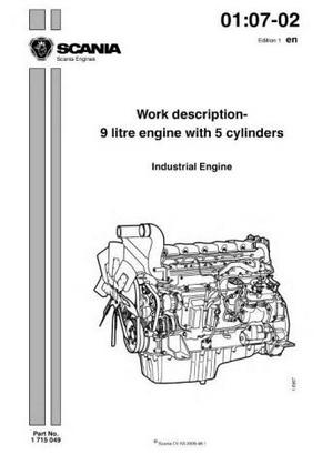 Scania DC09 engine specs, bolt torques and manuals