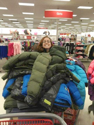 Shopping for Coats  - BGD 2012