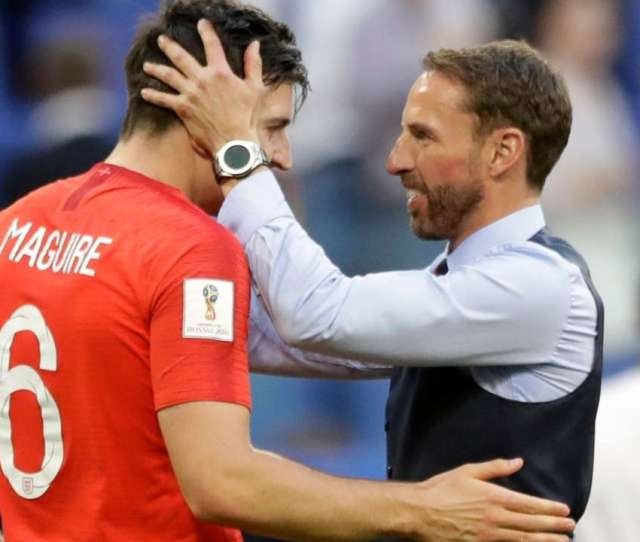 Gareth Southgate Watch Fifa Worldcup 2018