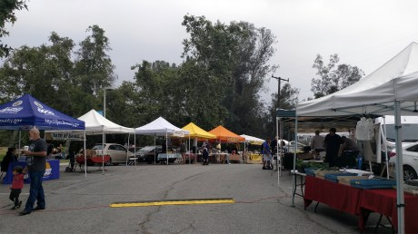 Altadena Farmers Market from the north