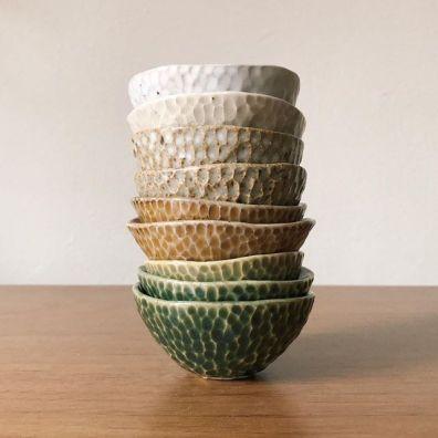 ceramic pinch pots