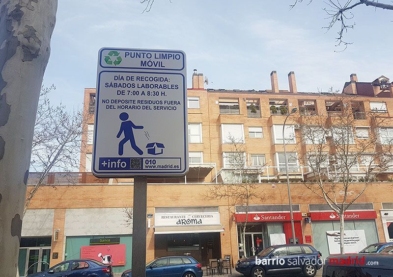 punto limpio barrio salvador