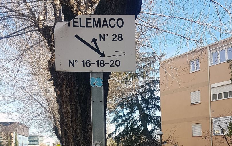 calle telémaco