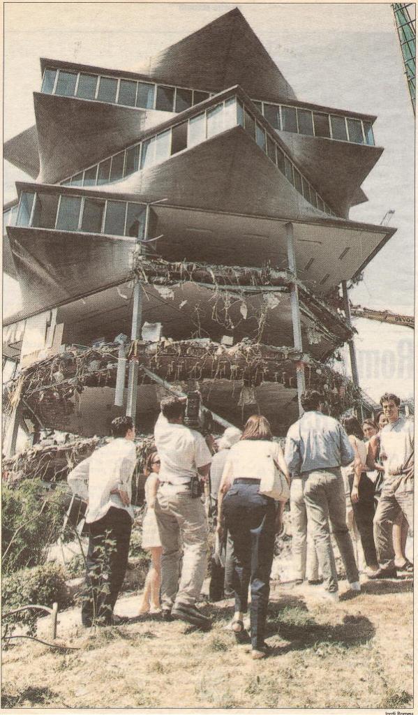 demolición pagoda madrid