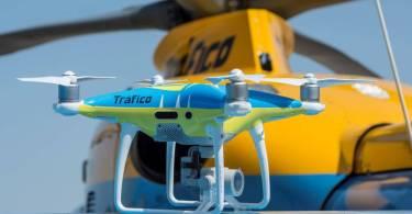 drones tráfico