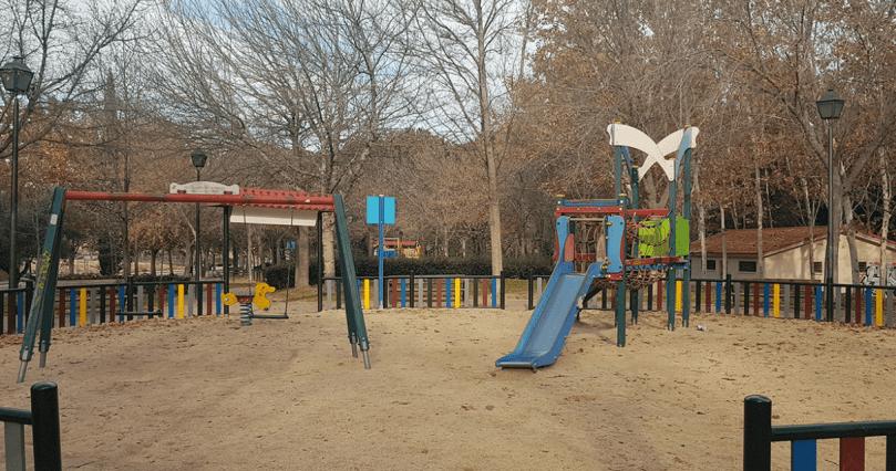 parque infantil calle miami