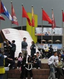 Feria del libro en Corferias