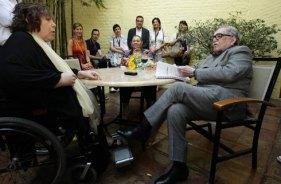 Gabriel García Márquez y Aida Bortnik