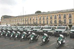 Policía comunitaria en Bogotá