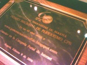 Premio Periodismo CPB