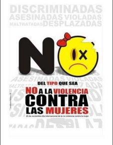 no violencia contra mujeres