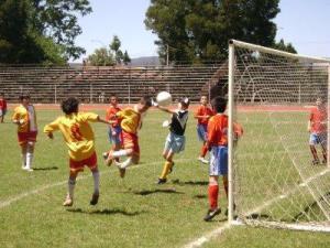 Fútbol en niños