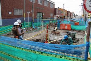 Excavaciones peligrosas en Fontibón