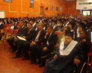 Graduación de jóvenes de Engativá