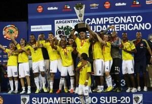 Colombia campeón sub-20 en Mendoza