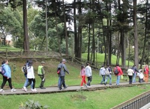Caminatas recreo ecológicas
