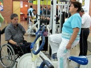 Gimnasio para personas con discapacidad