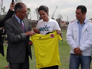 Andrés Botero, Mónica González y Ricardo Pérez
