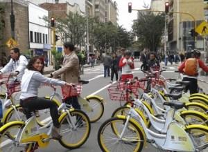 Bicicletas públicas en Bogotá