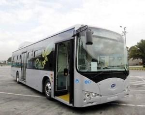Buses eléctricos por la Carrera Séptima
