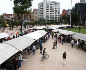Espacio público en Bogotá