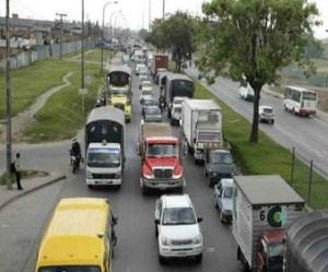 Caos por transporte de carga