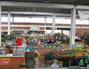 Plaza de mercado en Bogotá