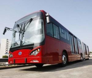 Buses eléctricos para Bogotá