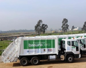 Carro recolector de basura