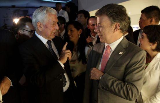 Santos y Vargas Llosa