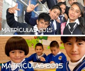 Matrículas 2015 - copia