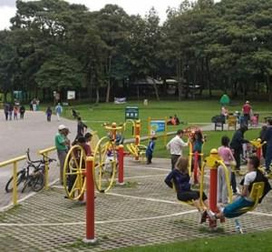 Parque bogotano