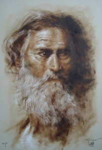 portraits on paper