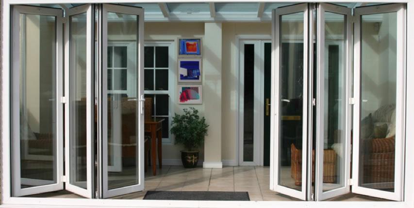 windows bi fold and tri fold doors