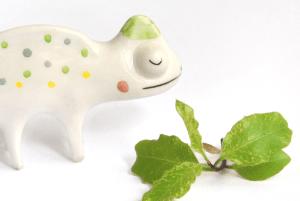Miniatura Camaleon Ceramica