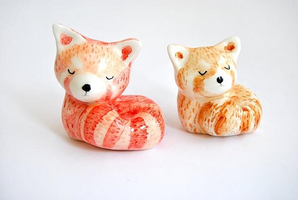 Panda rojo, 2 versiones