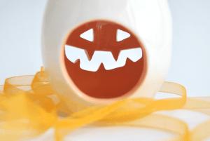 Portavelas Calabaza de Halloween