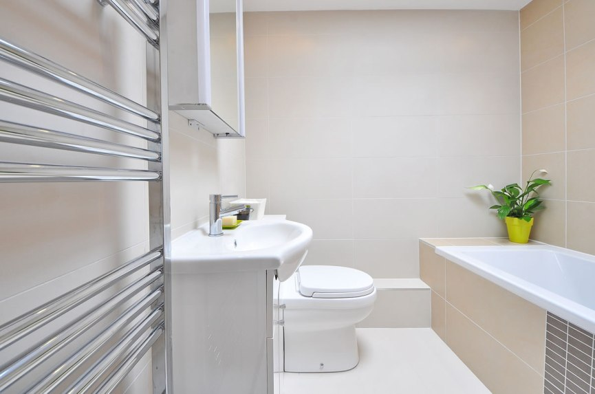 Small Bathroom installation picture
