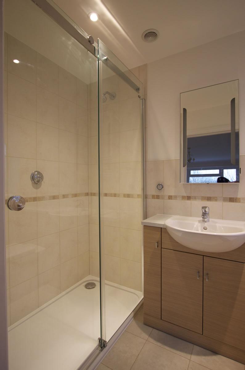 Shower Tray for a bathroom installation