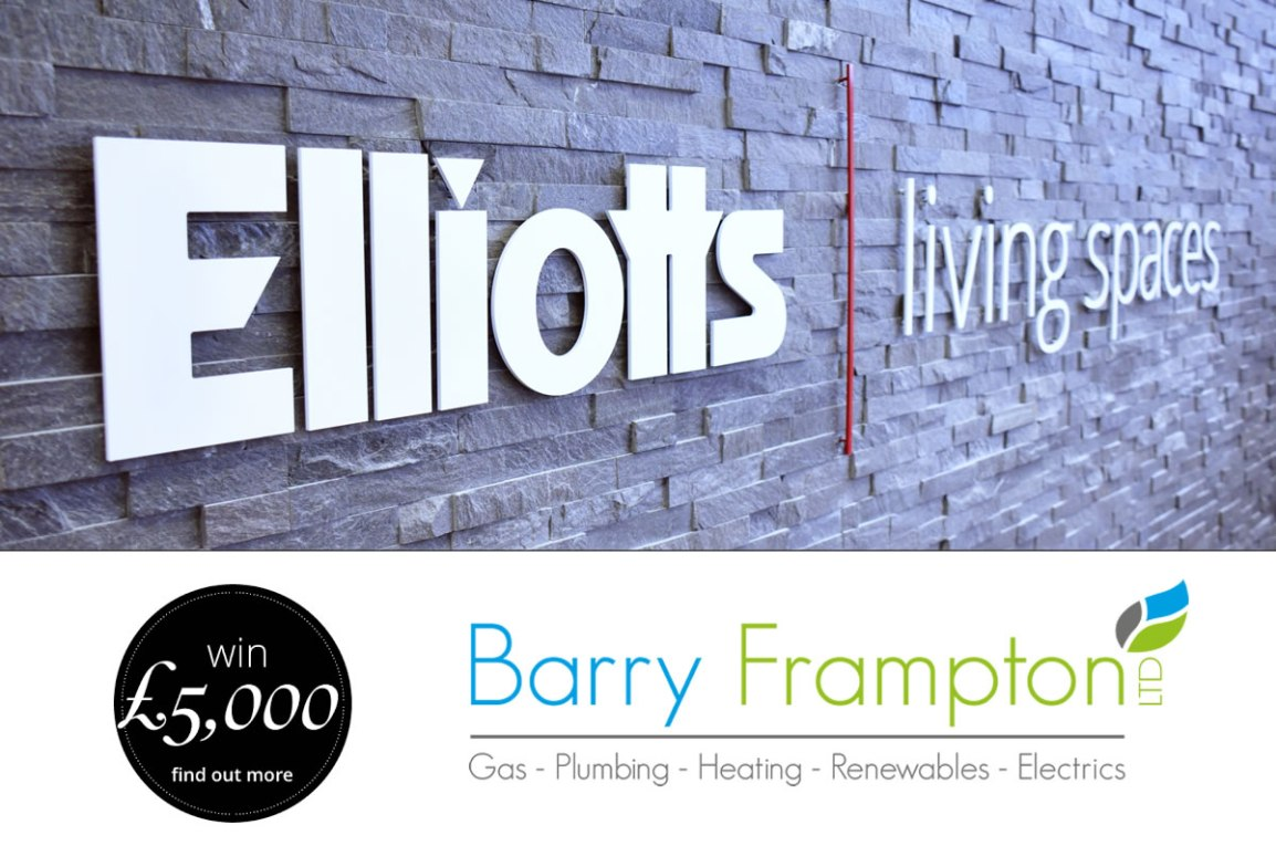 Win £5000 with Elliotts for a new Bathroom