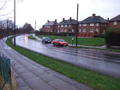 Council houses at Hackenthorpe, South Yorkshire